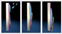 biossido di titanio effetto dello sporco